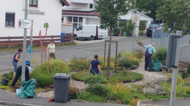 SPD-Ortsverein am roten Pflanzeck